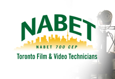 NABET 700 CEP Toronto Film & Video Technicians