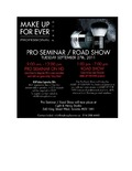 Make Up Forever Pro Seminar / Road Show