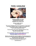 Food Handling at George Brown College Continuing Education Hospitality and Culinary Arts