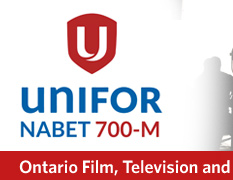 NABET 700-M UNIFOR Ontario Film, Television and New Media Technicians